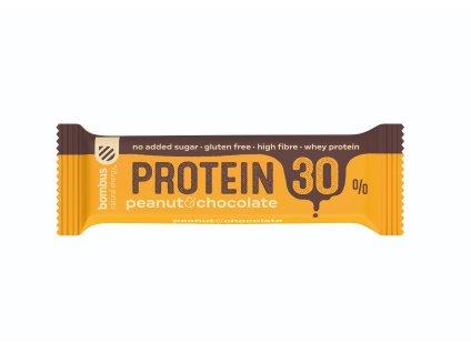 Proteinová tyčinka Protein 30 % - Bombus (Balení (g) 50 g, Příchuť vanilka a křupky)