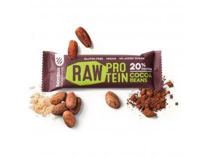 Proteinová tyčinka Raw Protein 50 g - Bombus (Příchuť arašídové máslo, Balení (g) 50 g)