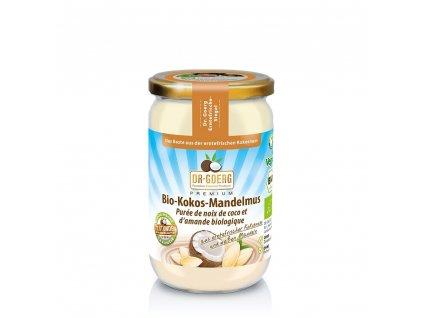 Premium BIO Oříškové máslo z kokosu a mandlí - DR. GOERG (Balení (g) 200 g)