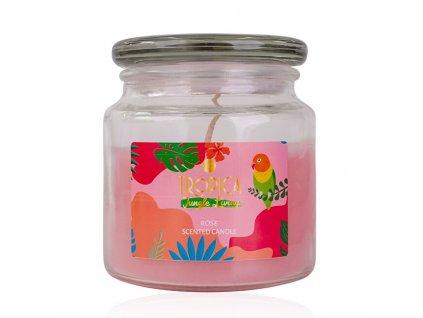 858543 accentra vonna svicka tropica rose scented candle