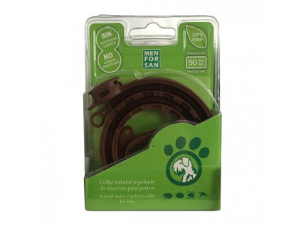 857634 menforsan prirodni obojek pro psy odpuzujici klistata a blechy natural insect repellent collar for dogs