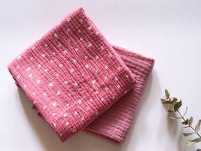 Sada plen/pink stars+heather