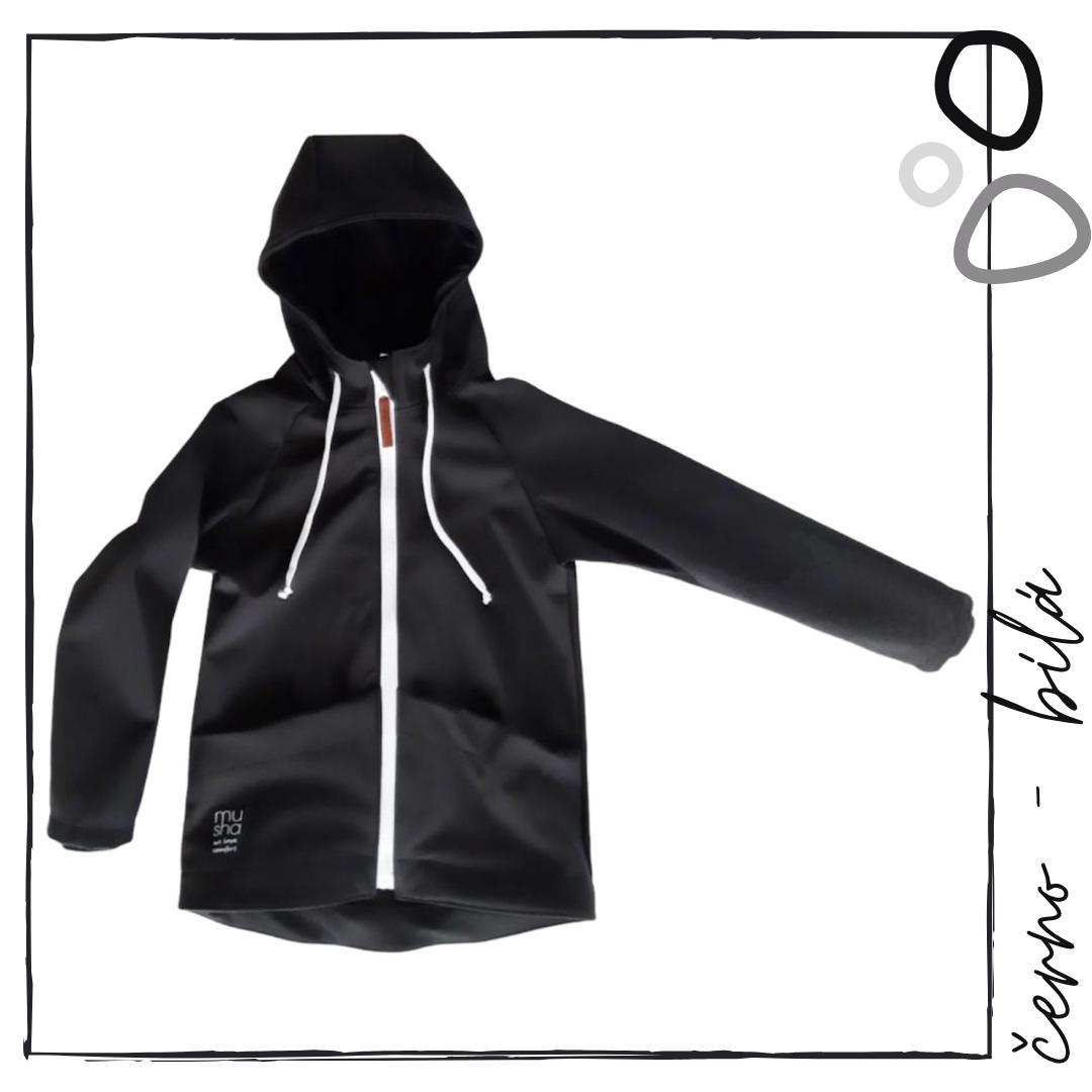 Softshellová bunda černá