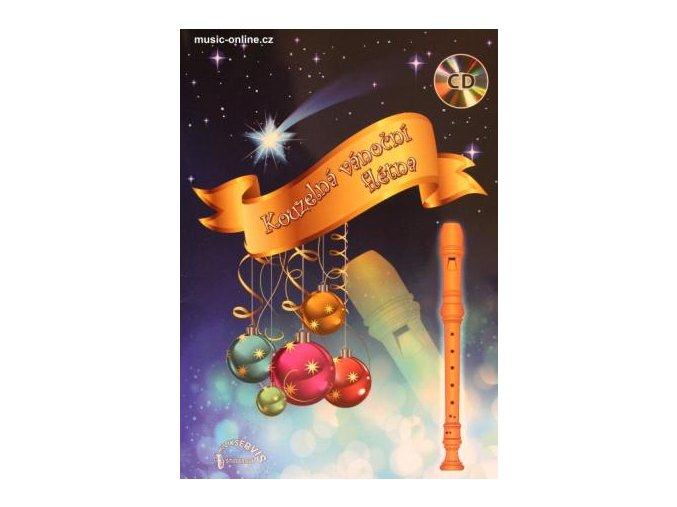 Kouzelná vánoční flétna + CD - Vinšáková, Jurkovič