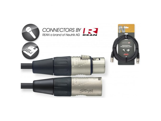 Kabel mikrofónní 6m