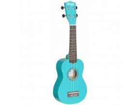 Stagg US OCEAN, sopránové ukulele, modré
