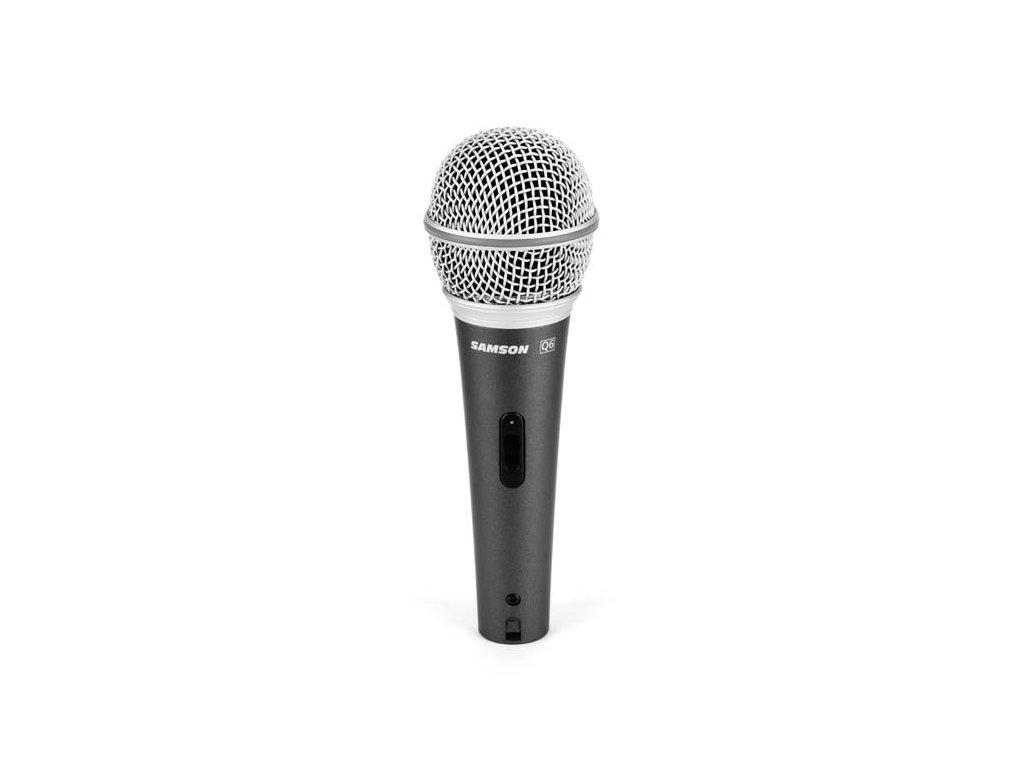 Q6 - dynamický mikrofon