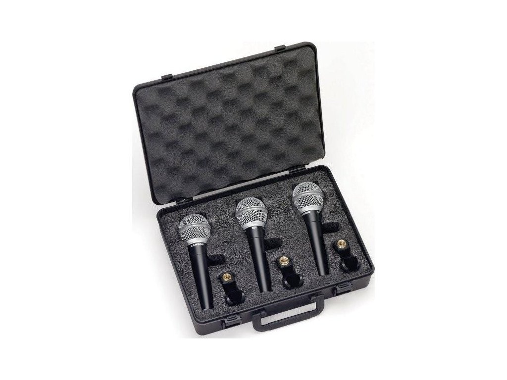 R21S3 - sada dynamických mikrofonů