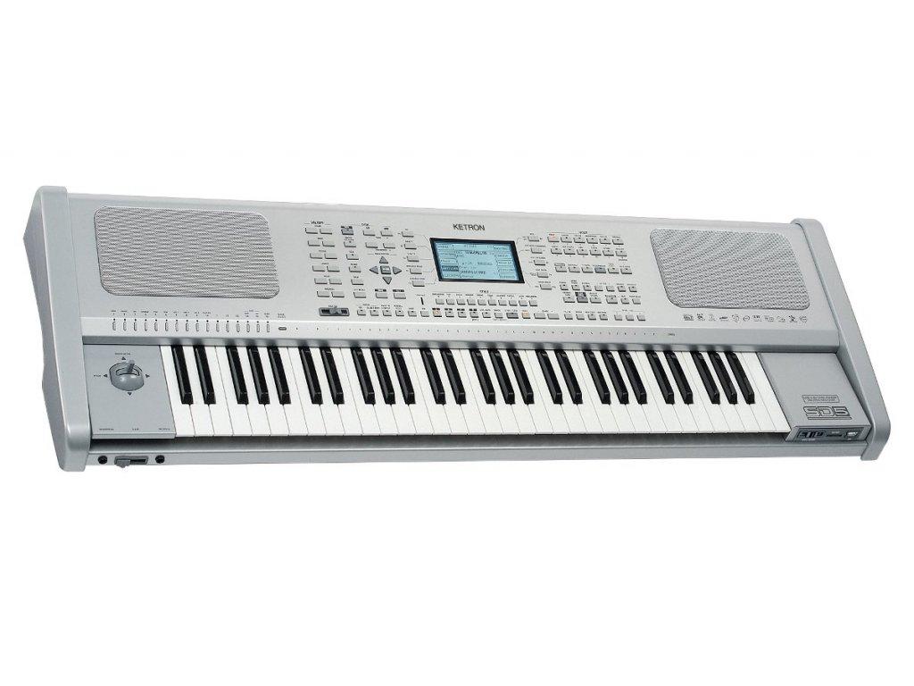 SD5 - Keyboard - pracovní stanice