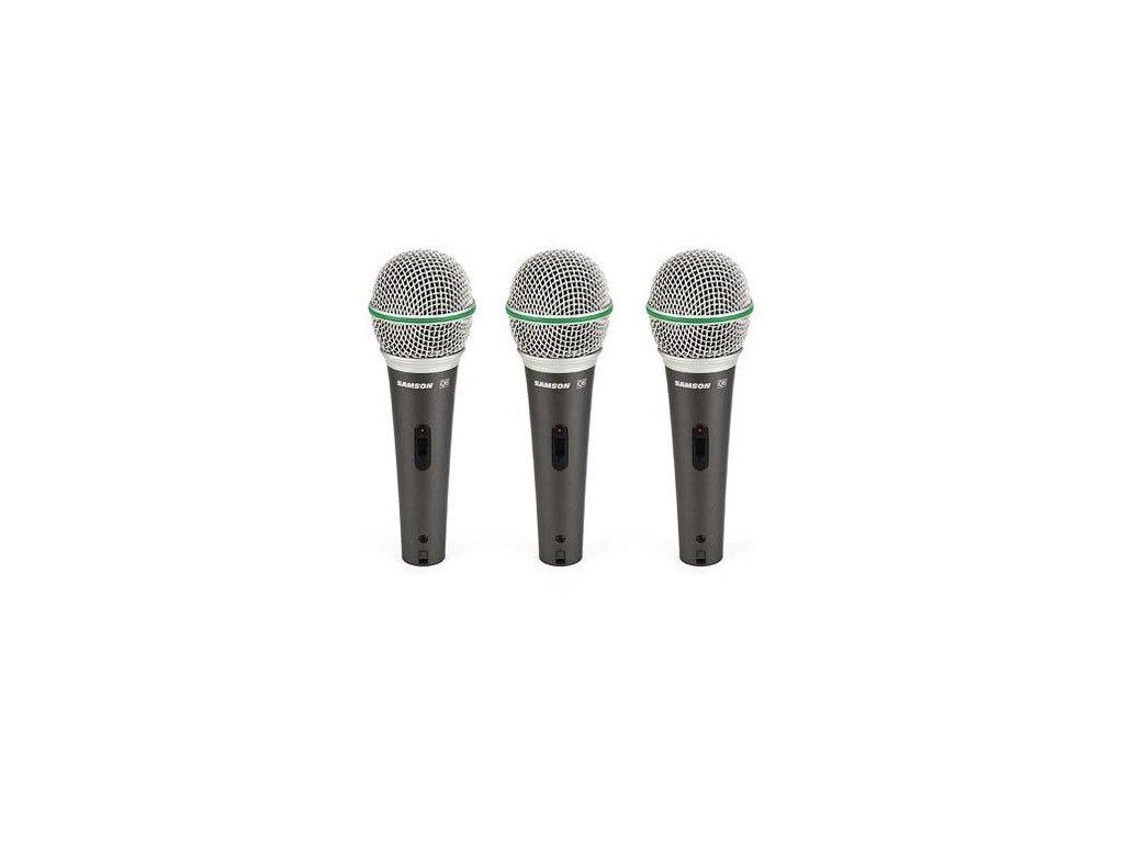 Q63PACK - sada dynamických mikrofonů