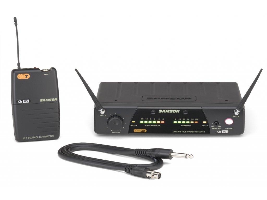 SW77SGT - bezdrátový systém pro kytaru a basu