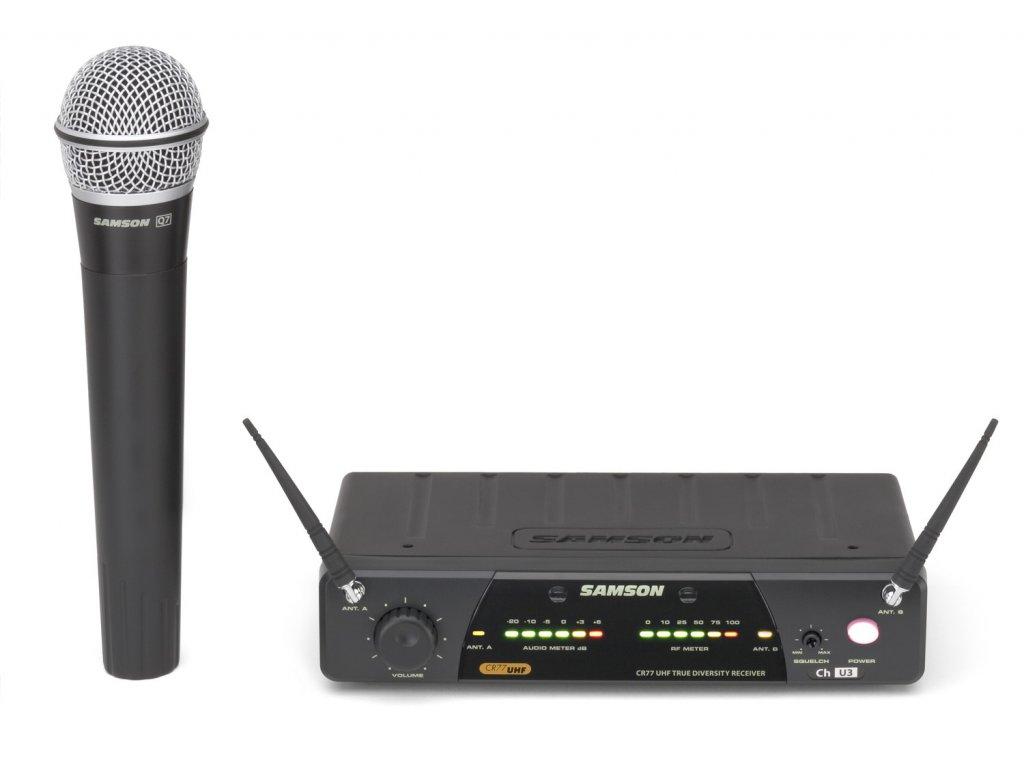 SW77SHQ7 - bezdrátový mikrofonní systém