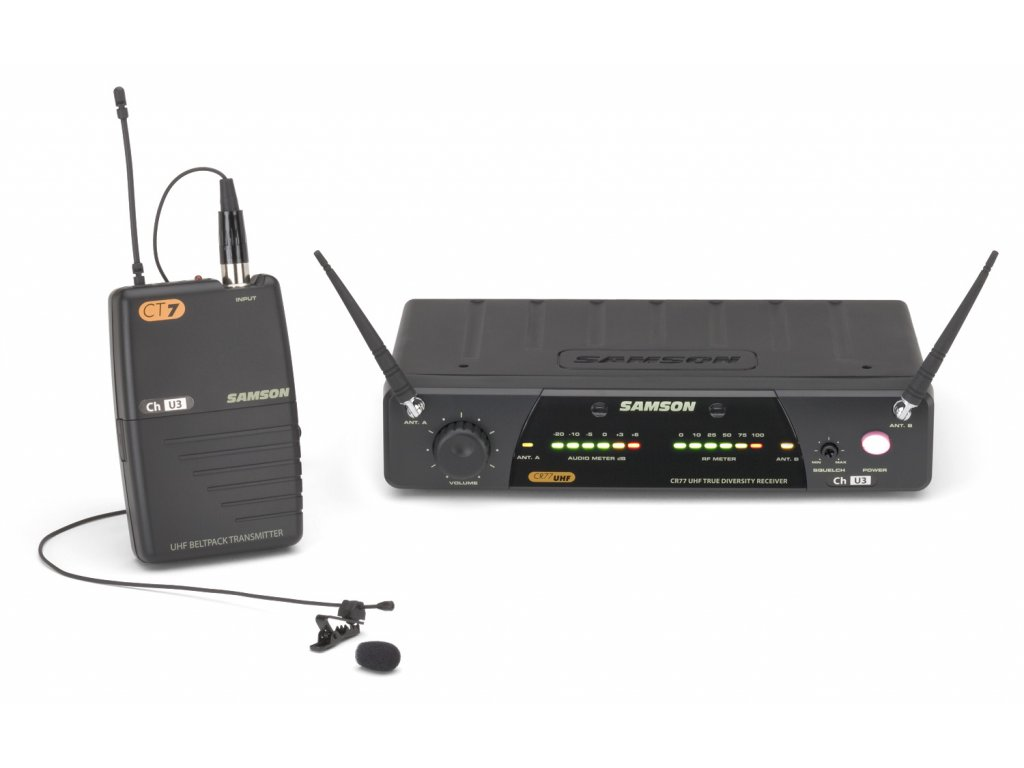 SW77VSLM - bezdrátový mikrofonní systém