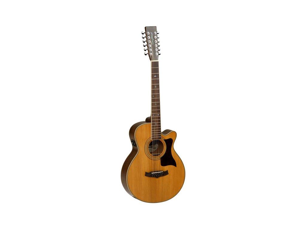 TW 145/12 SC - elektro-akustická kytara