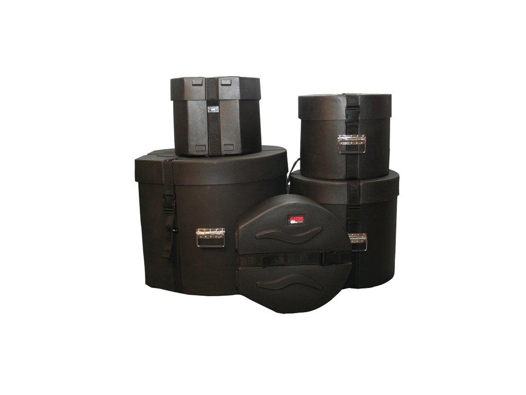 GPR Standard Set Pevné obaly na bicí sady z polyetylénu.