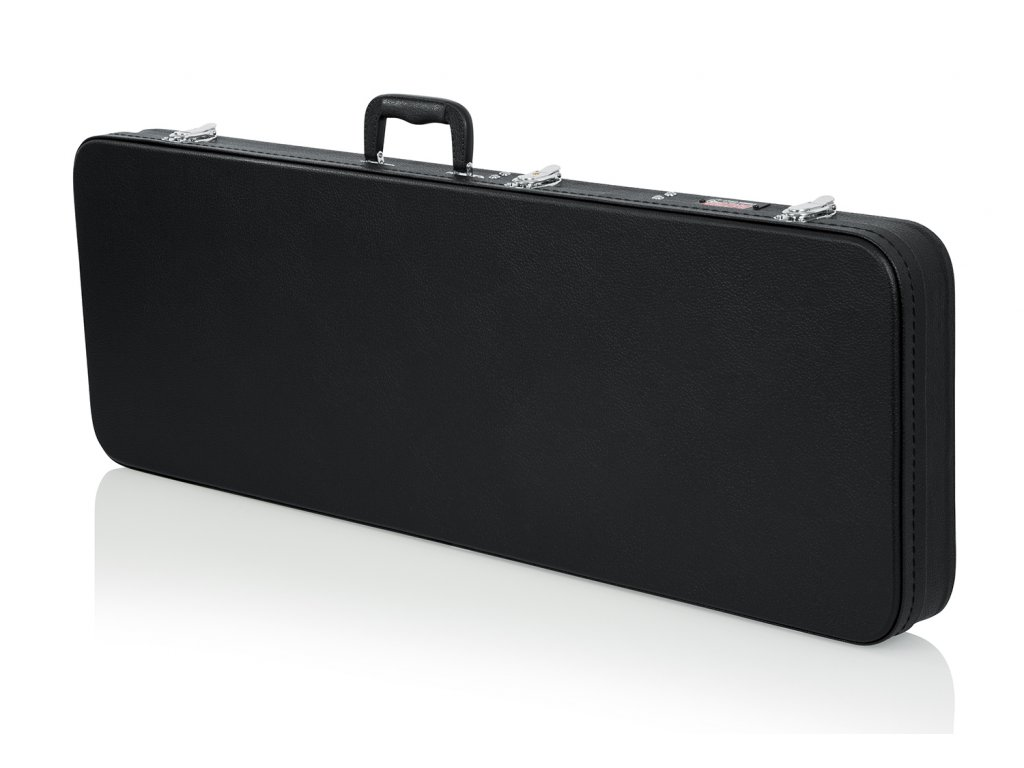 GWE-Elec - dřevěný kufr na elektrickou kytaru