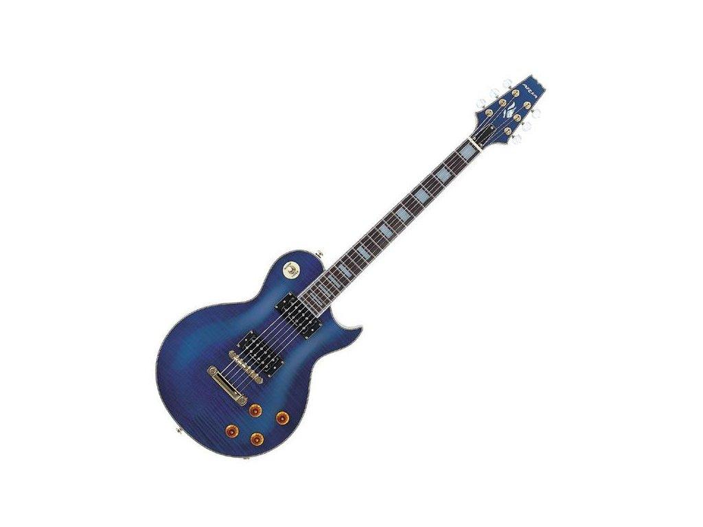 Aria PE DLX VCS - elektrická kytara-zboží bylo vystaveno na prodejně