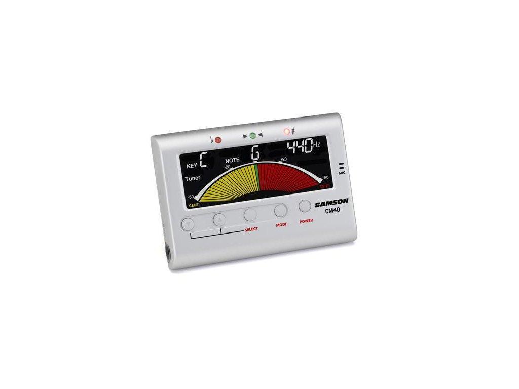 CM40 - chromatická ladička/metronom