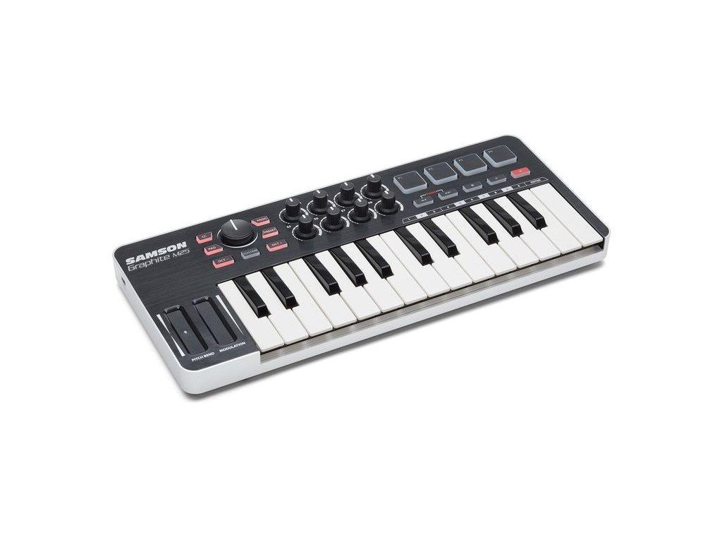 Graphite M25 - USB MIDI kontroler