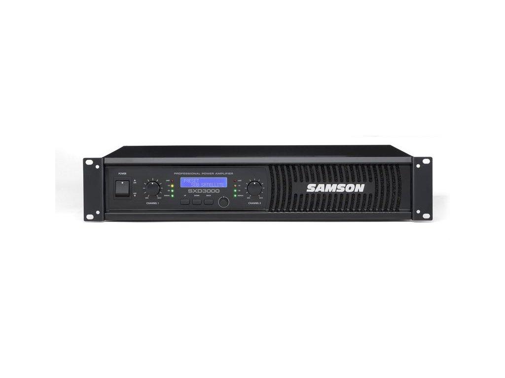 SXD3000 - koncový zesilovač