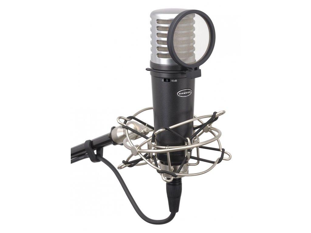 MTR201a - kondenzátorový mikrofon