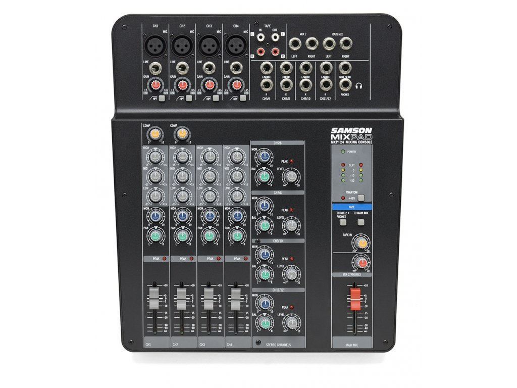 MXP-124 - mixážní pult