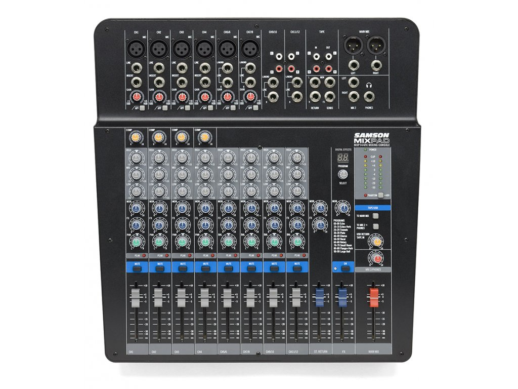 MXP-144FX - mixážní pult