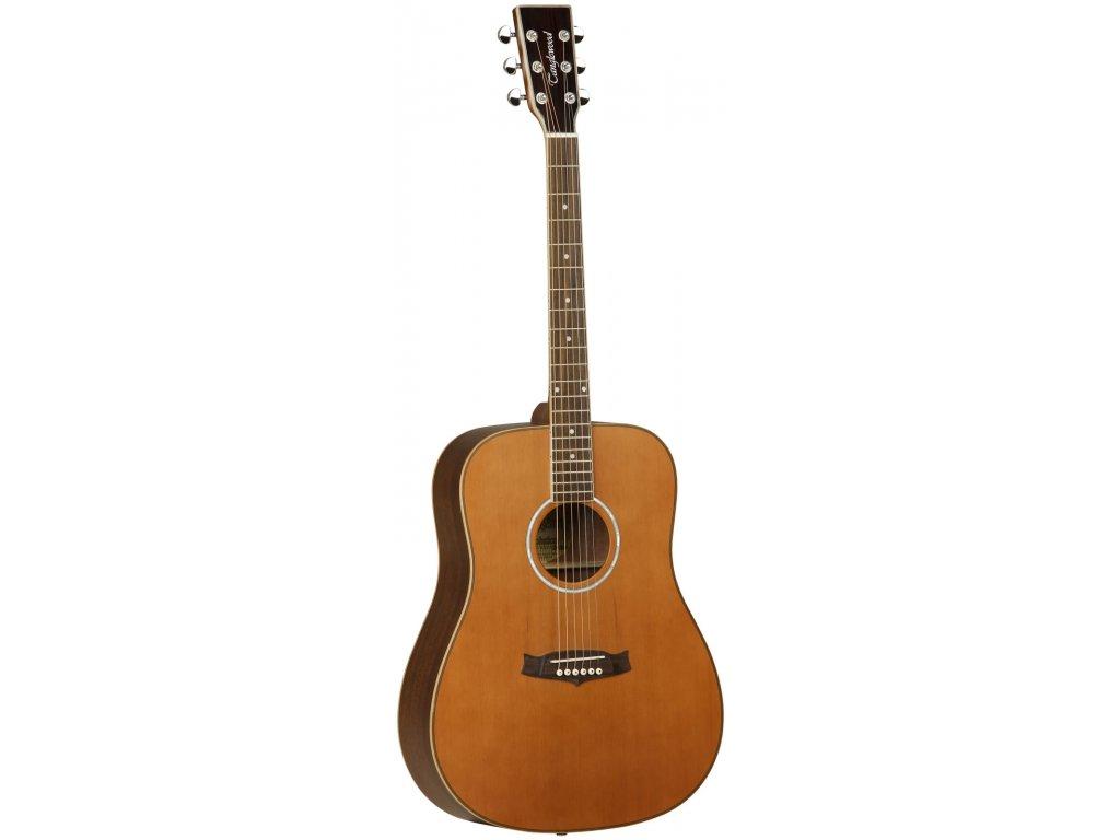 TW-28 CSN + TWCD - akustická kytara s pevným kufrem