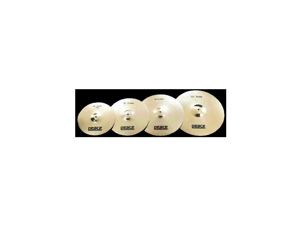 CYM 3 14 bronzový ručně tepaný činel