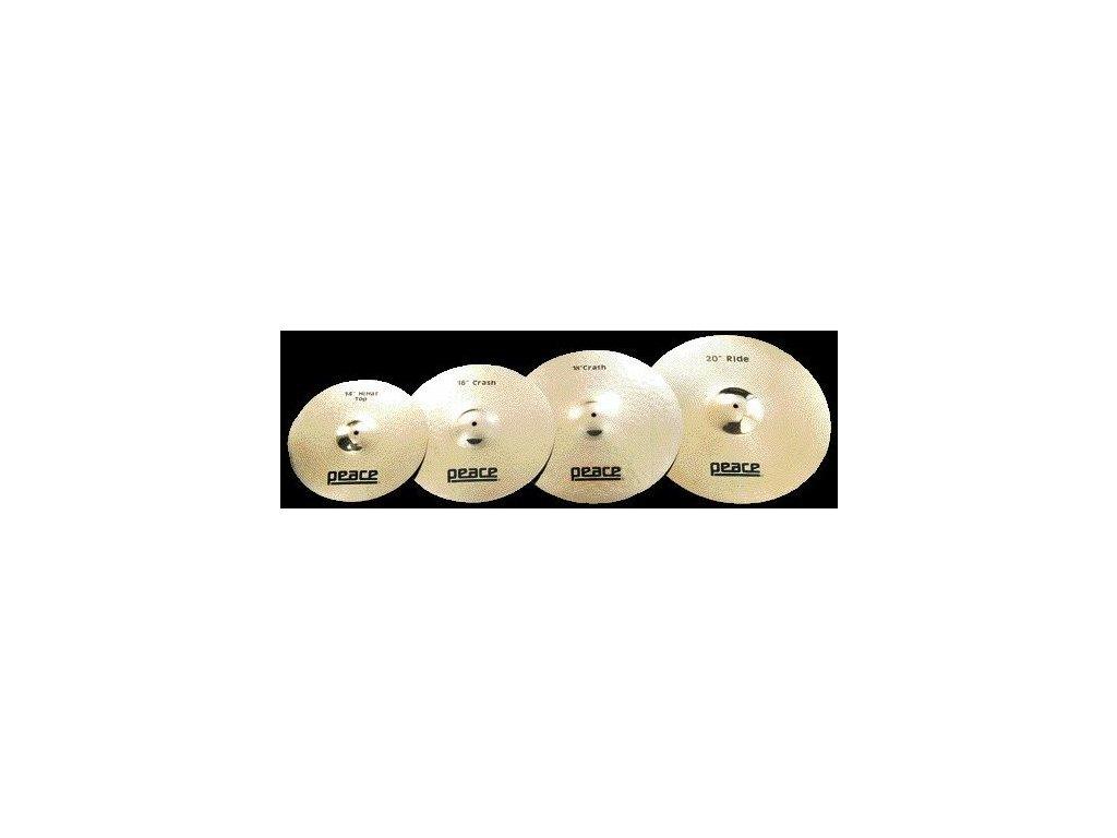 CYM 3 20 bronzový ručně tepaný činel