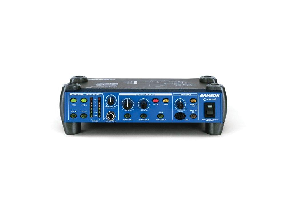 C. control - přepínač mezi monitory