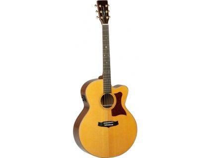 TW 55 H B - elektroakustická kytara