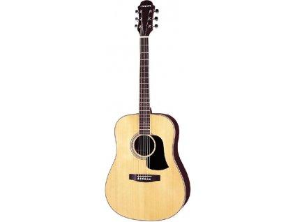 Aria AW35CE - elektro akustická kytara-zboží bylo vystaveno na prodejně