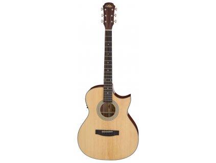 Aria-201CE - elektro-akustická kytara