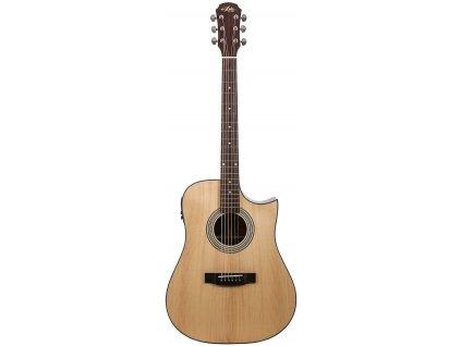 Aria-215CE - elektro-akustická kytara