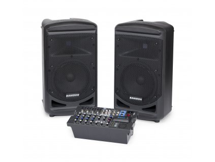 Samson XP800 - kompletní ozvučovací sestava
