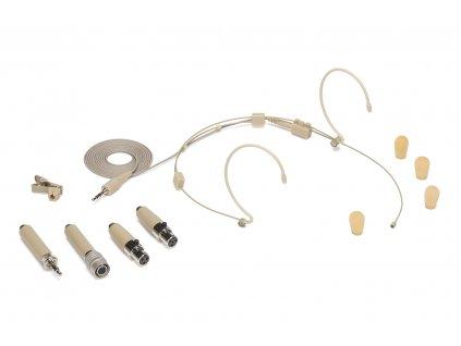 DE10 - hlavový kondenzátorový mikrofon