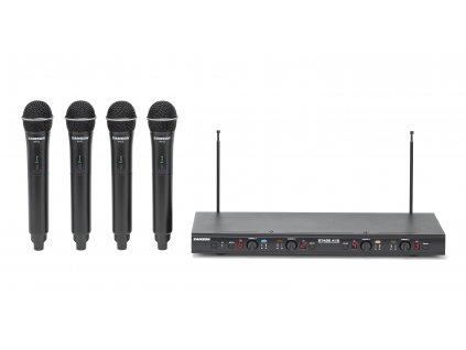 Samson Stage 412-dvoukanálový bezdrátový set s mikrofony doruky