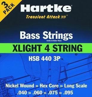 HSB 440-3P - Struny na baskytaru
