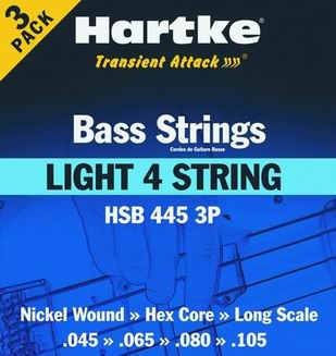 HSB 445-3P - Struny na baskytaru