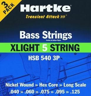 HSB 540-3P - Struny na baskytaru
