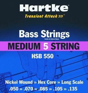 HSB 550 - Struny na baskytaru