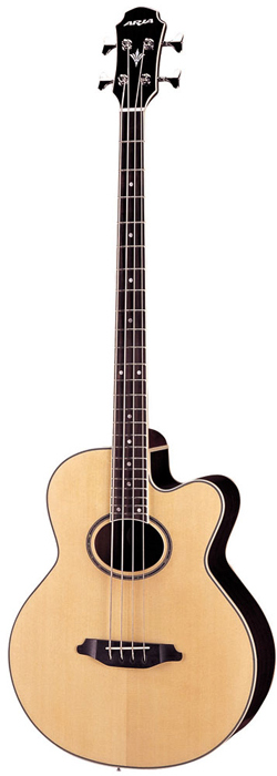 Aria FEB-STD - elektro-akustická baskytara