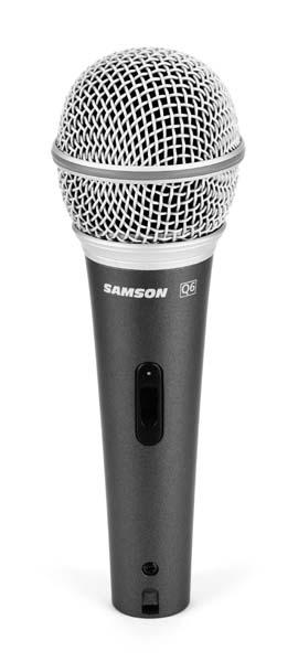 Samson Q6 - dynamický mikrofon
