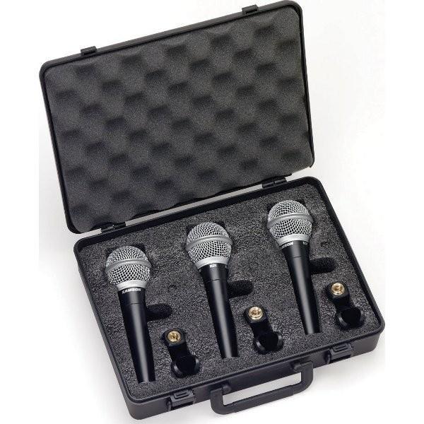 Samson R21S3 - sada dynamických mikrofonů