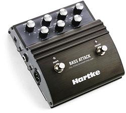 Hartke VXL - basový předzesilovač