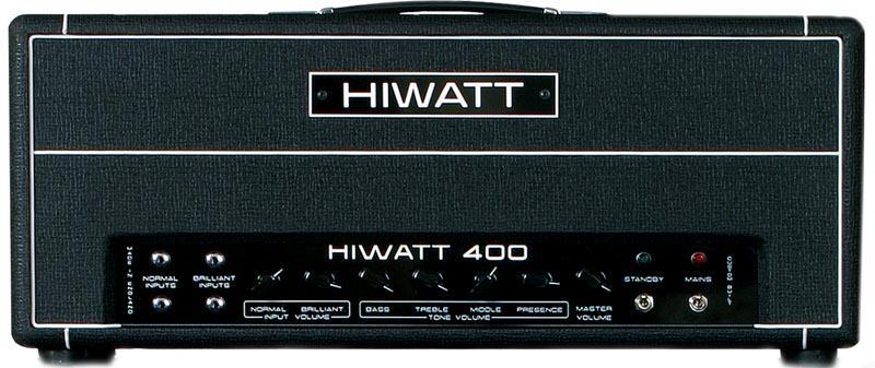 Hiwatt Custom 400 Head - Celolampový basový zesilovac
