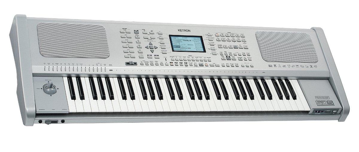 Ketron SD5 - Keyboard - pracovní stanice