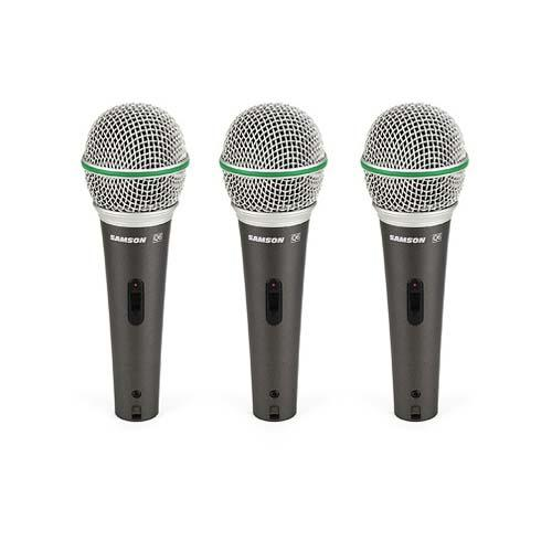 Samson Q63PACK - sada dynamických mikrofonů