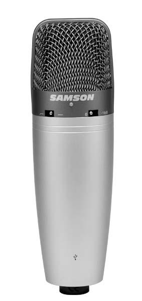 Samson C03U - kondenzátorový mikrofon USB